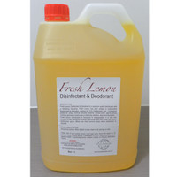Fresh Lemon Disinfectant & Deodorant 5 Litres Eco Chemicals