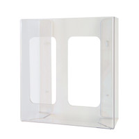 Kimberly Clark Glove Dispenser Double Clear Acrylic (98112) Kimberly Clark Professional
