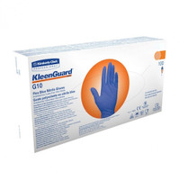 Kleenguard G10 Flex Blue Nitrile Gloves Medium 100 Gloves (38520) Kimberly Clark Professional