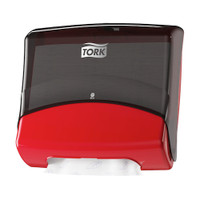 Tork® Dispenser Folded Red/Black W4 System (654008) Tork Products