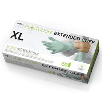 "Medline Aloetouch 12"" Chemo Nitrile Exam Gloves XLarge (MDS195187XL) Medline Products"