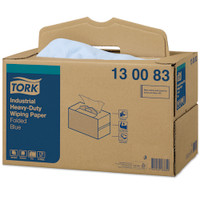 Tork® Industrial Heavy-Duty Wiping Paper Handy Box 200 Wipers (130083)