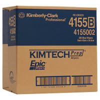 Kimtech PREP EPIC Heavy Duty Wipers Blue 250 Wipers (4155) Kimberly Clark Professional