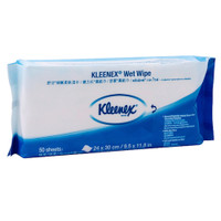 Kleenex® Wet Wipe Patient Wiping 50 Wipers (KC94128) Kimberly Clark Professional