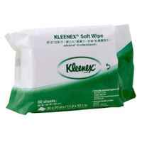 Kleenex® Soft Wipes Pacient Wipes 60 Wipers (KC94127) Kimberly Clark Professional
