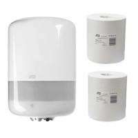 Tork Basic White Centrefeed M2 System Starter Pack (2179141 559030) Tork Products