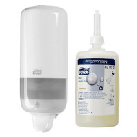 Tork Liquid Soap S1 System White Starter Pack (420501 560000) Tork Products