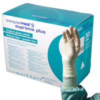 Sempermed Supreme Plus Surgical Gloves Sterile 6 Latex Powder Free (SUS822851B)