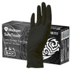 Medicom SafeTouch Ultimate Black Textured Latex Gloves Large (1158D) Medicom Australia