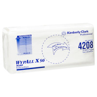 WyPall X50 Reinforced Single Sheet Wipers 75 Wipers (4208) Kimberly Clark Professional