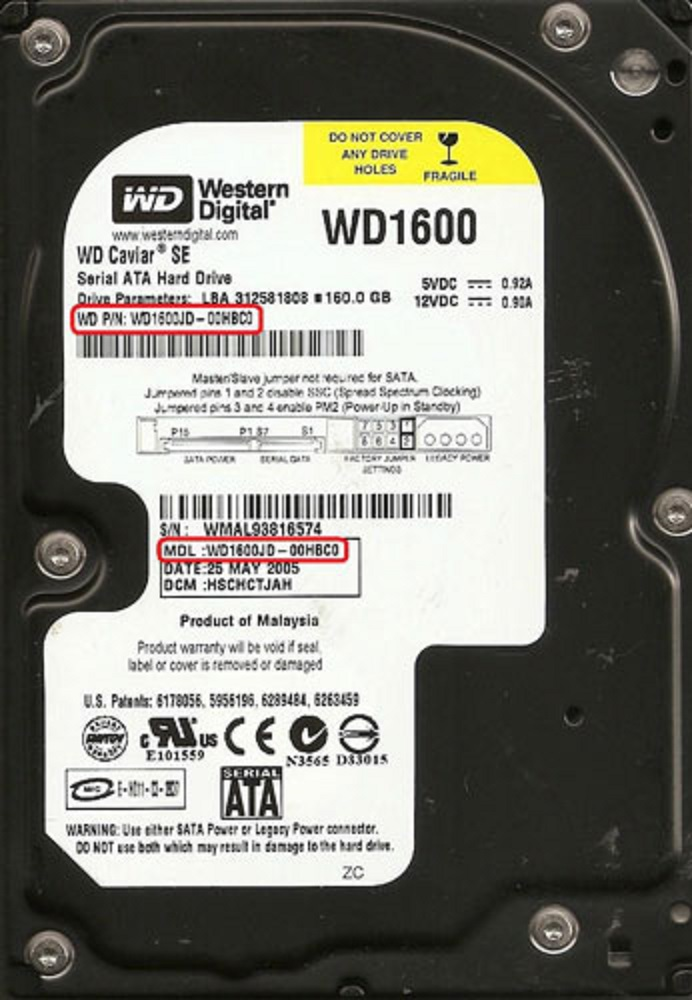 Western Digital Hard Drive PCB swapping replacement guide
