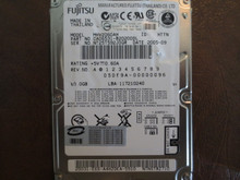Fujistsu MHV2060AH CA06531-B20200DL 05DE9A-00000096 60gb IDE (Donor for Parts)
