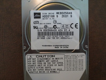 Toshiba MK8025GAS HDD2188 S ZK01 S 610 A0/KA023H 80gb IDE (Donor for Parts) 85EQ8840S (T)