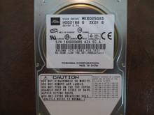 Toshiba MK8025GAS HDD2188 S ZK01 S 610 A0/KA023H 80gb IDE (Donor for Parts) 16HG0068S (T)