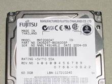 FUJITSU MHT2060AT, CA06297-B60600SP, 07D6-0022, ATA/IDE