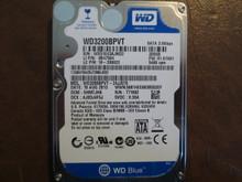 Western Digital WD3200BPVT-24JJ5T0 DCM:SHMTJHK 320gb Sata WX51E43AJND2 (T)