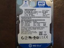 Western Digital WD3200BPVT-24JJ5T0 DCM:SHMTJHK 320gb Sata WX51E43ACEC8 (T)