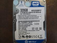 Western Digital WD3200BPVT-00JJ5T0 DCM:SHMTJAB 320gb Sata
