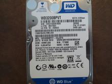 Western Digital WD3200BPVT-24JJ5T0 DCM:HHMTJGK 320gb Sata WXD1A63E4928 (T)