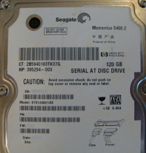 "10 pc. lot Seagate ST9120821AS 2.5"" 120gb 5400rpm Sata HDD (DOD tested & Wiped)"
