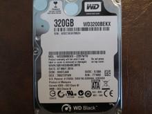 Western Digital WD3200BEKX-22B7WT0 DCM:HHOTJAK 320gb Sata WXC1A3478624 (T)