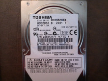Toshiba MK8032GSX HDD2D32 B ZK01 T 010 A0/AS111G 80gb Sata 26K81217T (T)