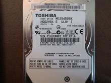Toshiba MK2565GSX HDD2H84 E UL01 T 010 B0/GJ002J 250gb Sata 21LEC8M0T (T)