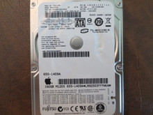 Fujitsu MHY2160BH CA06889-B42700AP 0CFD0A-0081000D Apple#655-1409A 160gb Sata (Donor for Parts)