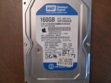 Western Digital WD1600AAJS-40H3A2 DCM:HHNNHT2ABN 160gb Sata (Donor for Parts)