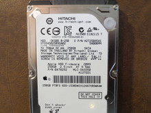 Hitachi HTS545025B9SA02 PN:0A78252 MLC:DA3350 Apple#655-1538D 250gb Sata (Donor for Parts) IX124A7XRDWKA (T)
