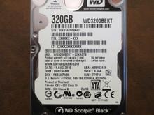 Western Digital WD3200BEKT-22KA9T0 DCM:HBNTJANB 320gb Sata