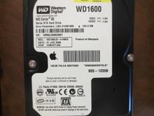 Western Digital WD1600JD-41HBC0 DCM:HSBHCTJAA Apple#655-1235B 160gb  Sata (Donor for Parts)