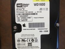 Western Digital WD1600JD-41HBC0 DCM:HSBHCTJAH Apple#655-1235B 160gb  Sata (Donor for Parts)