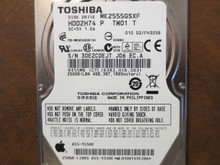 Toshiba MK2555GSXF HDD2H74 P TW01 T 010 D2/FH305B Apple#655-1550C 250gb Sata (Donor for Parts) 30E2C0EJT (T)
