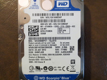 Western Digital WD3200BPVT-75JJ5T0 DCM:SHMTJHB 320gb Sata (Donor for Parts)