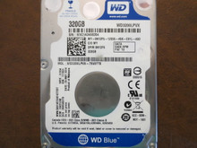Western Digital WD3200LPVX-75V0TT0 DCM:HAOTJAB 320gb Sata (Donor for Parts)