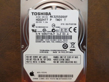 Toshiba MK3255GSXF HDD2H77 P TW01 T 010 D2/FH315B Apple#655-1551C 320gb Sata (Donor for Parts)