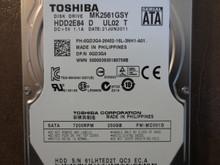 Toshiba MK2561GSY HDD2E84 D UL02 T FW:MC001D 250gb Sata