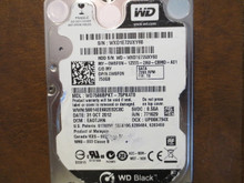Western Digital WD7500BPKT-75PK4T0 DCM:EAOTJHN 750gb Sata (Donor for Parts)