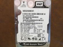 Western Digital WD3200BEKT-60V5T1 DCM:HHNTJBNB 320gb Sata (Donor for Parts)