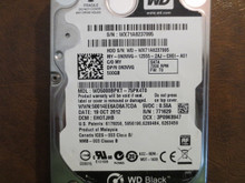 Western Digital WD5000BPKT-75PK4T0 DCM:EHOTJHB 500gb Sata (Donor for Parts)