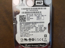 Western Digital WD5000BPKT-75PK4T0 DCM:HBOTJHN 500gb Sata (Donor for Parts)