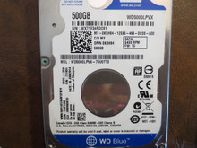 Western Digital WD5000LPVX-75V0TT0 DCM:EHKTJAK 500gb Sata (Donor for Parts)