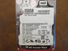 Western Digital WD2500BEKT-00PVMT0 DCM:HHCTJHB 250gb Sata (Donor for Parts)