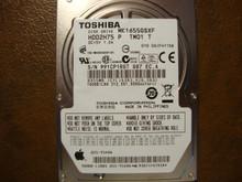 Toshiba MK1655GSXF HDD2H75 P TM01 T 010 D0/FH115B Apple#655-1549A 160gb Sata