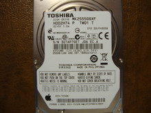 Toshiba MK2555GSXF HDD2H74 P TW01 T 010 D2/FH305B Apple#655-1550C 250gb Sata 30TAP7GET