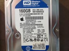 Western Digital WD1600AAJS-40H3A2 DCM:HHRNHT2AHN Apple#655-1470D 160gb Sata