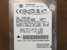 Hitachi HTS723232L9SA62 PN:0A73152 MLC:DA2835 Apple#655-1460 320gb Sata