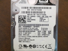 Western Digital WD2500BEKT-75PVMT0 DCM:HHCTJAN 250gb Sata (Donor for Parts)