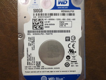 Western Digital WD5000LPVX-75V0TT0 DCM:EBKTJAN 500gb Sata (Donor for Parts)